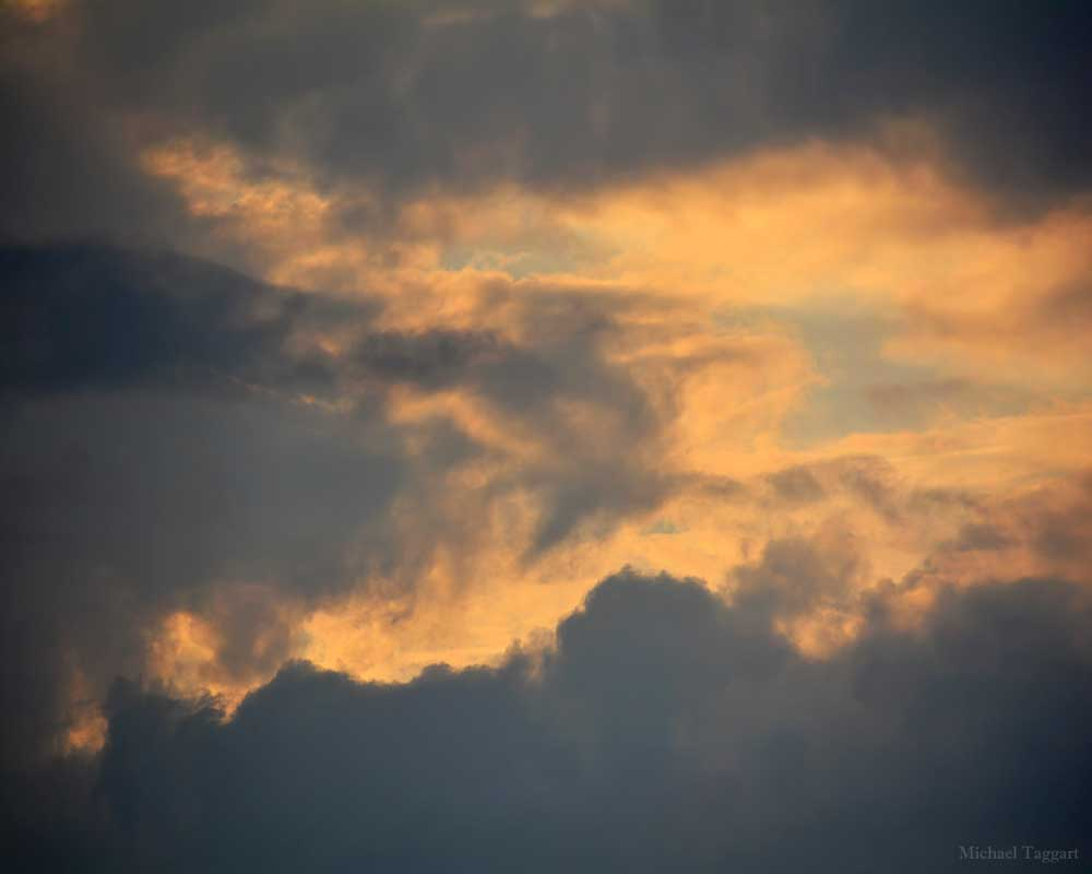 Sky Embers - Clouds - Amazing Pictures by Michael Taggart Photography