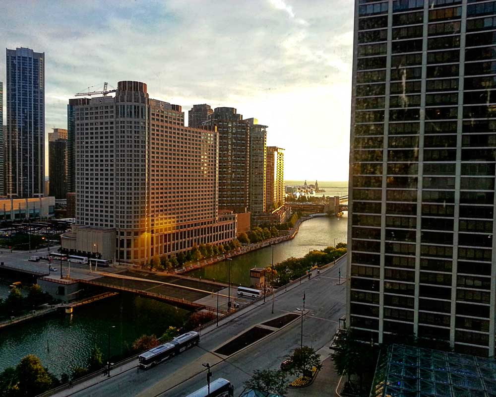 Chicago Morning View