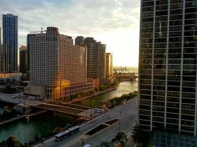 Chicago Morning View - Architecture - Amazing Pictures by Michael Taggart Photography