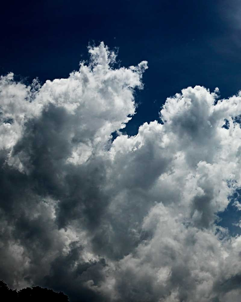 Fluffy Finger - Clouds -Amazing Pictures by Michael Taggart Photography